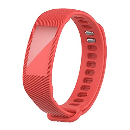 Huhudde Pulseira esportiva compatível com Amazon Halo smartwatch pulseira de silicone acessórios de substituição unissex e masculino universal
