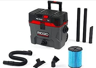 Ridgid 50328 Pro Pack Wet/Dry Vacuum, 10 gallon, Red
