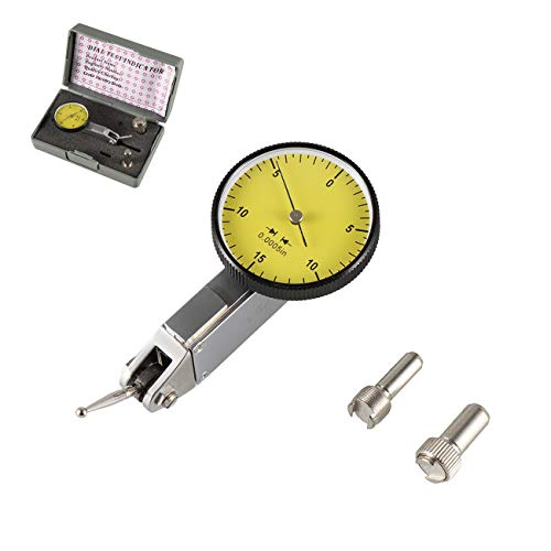 "HGC Precision Yellow 0.030"" Test Indicator 0. 0005"" GR Dial Reading 0-15-0 New"