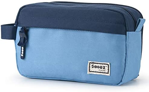 Sooez High Capacity Pen Case Durable Pencil Bag Stationery Zipper Pouch Portable Journaling product image