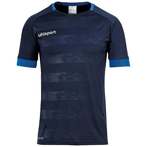 uhlsport Herren Division 2.0 Trikot Kurzarm Fussball Trainingsbekleidung, Dark Olive, XL