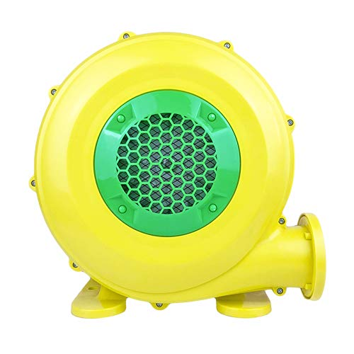 NUNUA Inflatable Bounce House Blower, 480 Watt Air Blower for Inflatable Castle and Jump Slides, Portable and Powerful Fan Pump Commercial Inflatable Blower