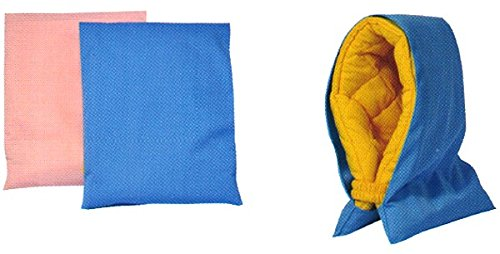 日本製 興栄繊商株式会社 FA56000 防災ずきんカバー(幼児用) サイズ:縦35×横27cm サツクス