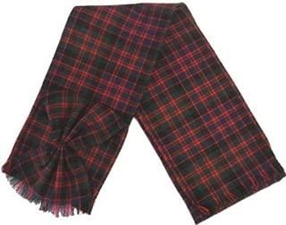 Scottish 100% Wool Tartan Ladies Mini Sash with Rosette - MacDonald