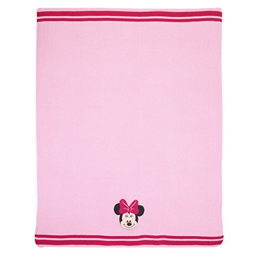 Disney Minnie Applique Knit Blanket