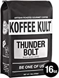 Koffee Kult THUNDER BOLT WHOLE BEAN COFFEE with French Roast Colombian...