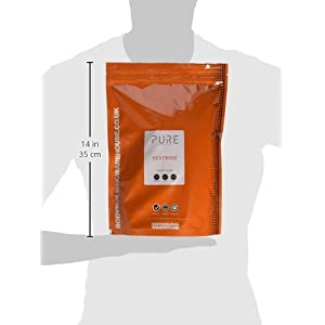 Bodybuilding Warehouse Pure Dextrose Carbohydrate Powder Unflavoured 1 kg