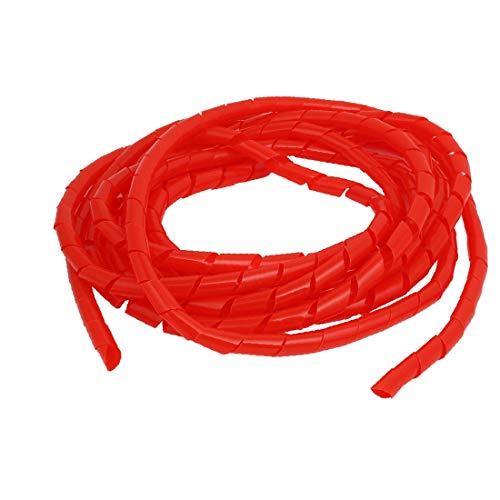X-DREE 14 mm de diámetro. Tubo espiral flexible Cable Alambre Envoltorio Computadora...