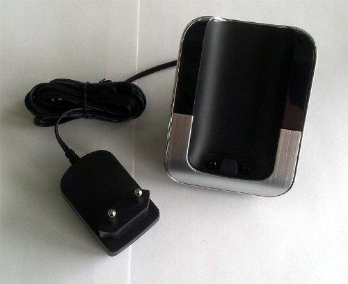 Ladeschale für T-Sinus 806 schwarz zum Ersatz / Erweiterung für Sinus 806 Pack / Sinus A806