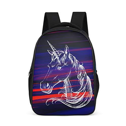 O2ECH-8 Unicorn Mochila para bebé, para niño, Informal, Gr