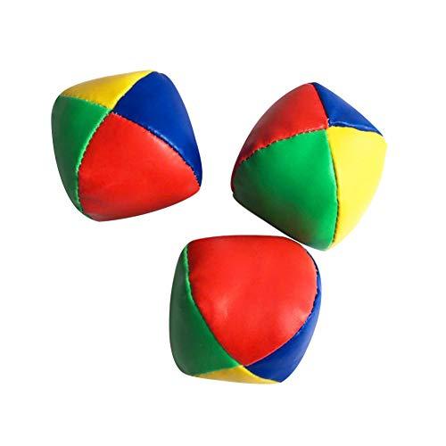 SAMTITY 3 Stück Kinder Jonglierbälle, Langlebig und Bunt, interaktives Spielzeug für Eltern und Kinder