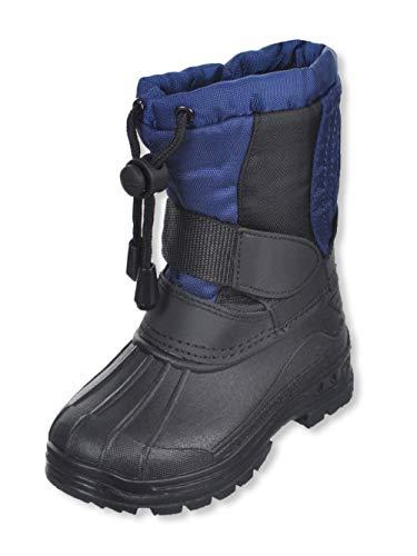 SkaDoo Girls' Snow Goer Boots - Navy, 6 Toddler