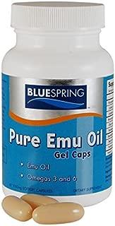 BLUESPRING Pure Emu Oil Gel Caps