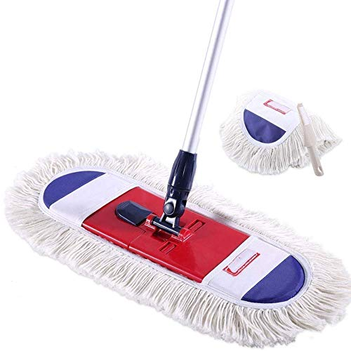 Mop and Buckets Sets Rotating Mop - Lazy Mop, Flat Mop Dust To Push The Home To Drag The Artifact, Wooden Floor Flat Flat To Avoid Hand Washing Mop Mop