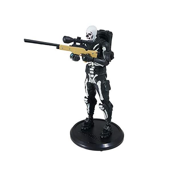 Fortnite - Figura articulada Skull Trooper 18cm 5