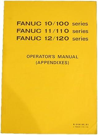 Amazon com: Fanuc Operator Manual: Books