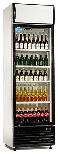 Flaschenkühler, 430 Liter, 620 x 690 x 2073 mm, 250 W,