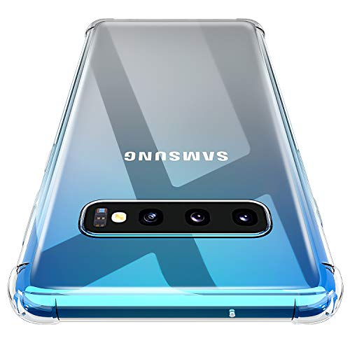 AINOYA Galaxy S10 Plus Case, [HGH-Quality] [Personalized] [Lovely] [Shock Absorption Technology] [Drop Cushion] Raised Bezels Slim Protective Cover for Samsung Galaxy S10 Plus