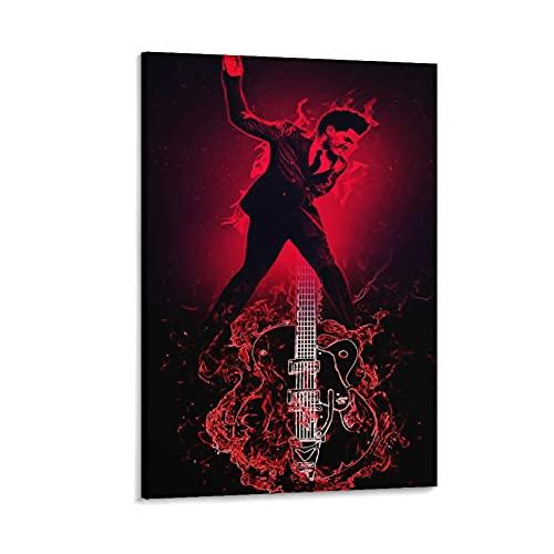 Jiandan The W.e.e.k.n.d XO Starboy Poster Stampa The Weekend Trilogy Rap Rock Hip Hop DJ (35) Poster decorativo su tela da parete per soggiorno, camera da letto, 60 x 90 cm