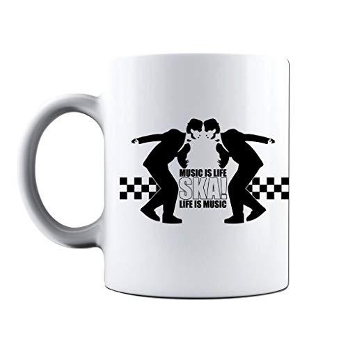 Ska Music is Life Rude Boys Dancing Mug