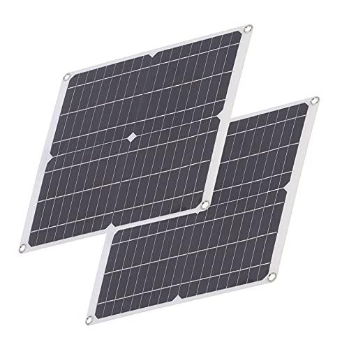 Panel solar, dispositivo de carga Módulo de carga solar para carga de dispositivo para satélites de avión de barco RV para plantación de reproducción al aire libre