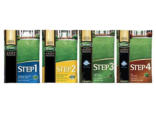 Scotts Complete 4-Step Program - 5,000 Sq. Ft. Coverage