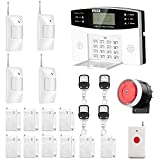 AGSHOME Security Alarm System 99+8 Zone Auto Dial GSM SMS Home Burglar Security Wireless...