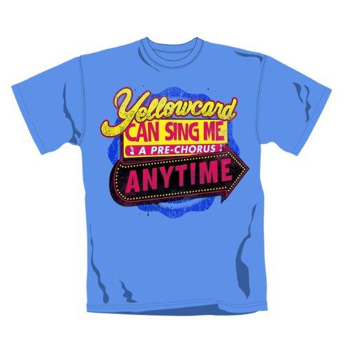 YELLOWCARD - ANYTIME T-Shirt, Größe S
