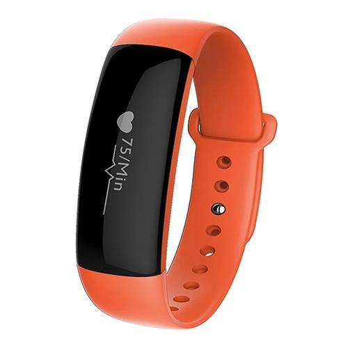 Bluelover M88 Smart Armband Real Time hartslagmeter bloeddrukmeter waterdicht hard zeefdruk horloge