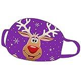 Kriosey—Accessories Moda Navidad Dibujos Animados Algodón Ropa, Lavable Reutilizable Material Respirable Cómodo Mantener Caliente