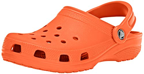 Crocs Classic Clog, Zuecos Unisex Adulto, Naranja (Tangerine 817), 43/44 EU