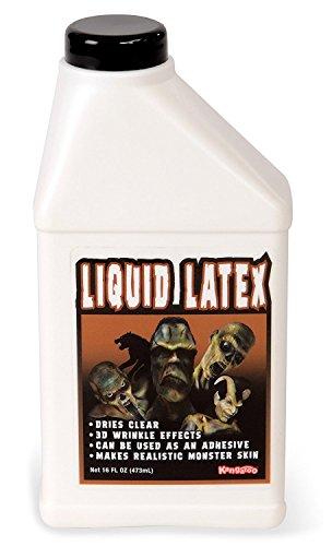 KANGAROO Professional Grade Liquid Latex Makeup, 16 Oz Pint