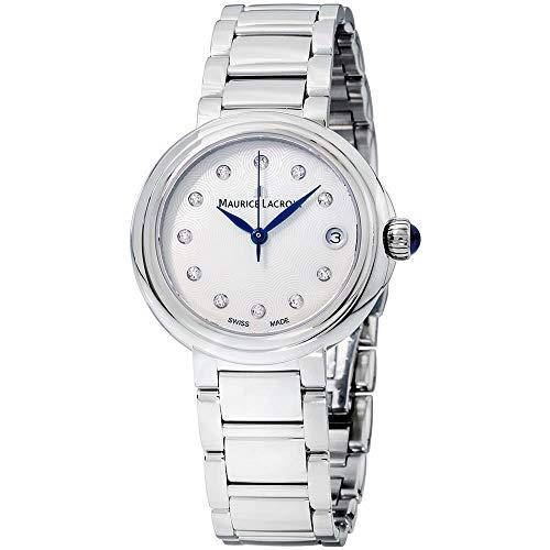 Maurice Lacroix Fiaba Damen-Armbanduhr Diamant 36mm Analog FA1007-SS002-170-1