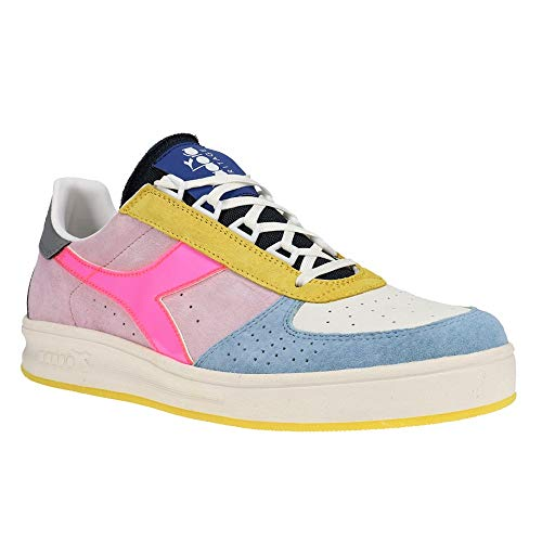 Diadora Mens B.Elite H Luminarie Italia Lace Up Sneakers Shoes Casual - Off White - Size 8 D