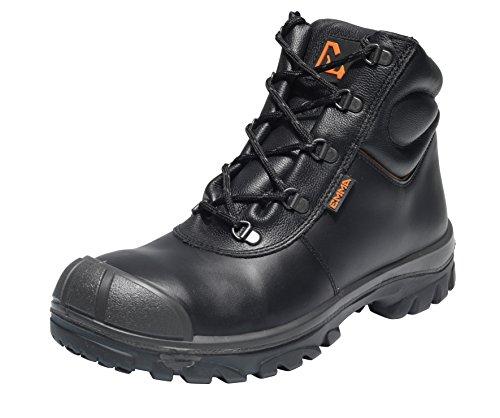 Emma Sicherheit Schuhe - D-XD Schwartz S3 HI Einer-für-Alles Sicherheit Schuh PU/SRC - Billy, D 43 EU / 9 UK