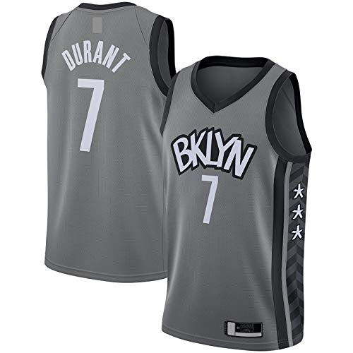 MUDAN Camiseta de baloncesto gris - Statement Edition#7 Camiseta de manga corta Swingman Jersey de baloncesto