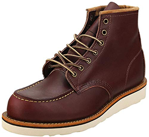 Red Wing 8856 Heritage Work 6' Moc Toe Boot Oxblood UK 9