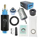 HFP-361-URTF Quantum Intank EFI Fuel Pump w/Regulator, Tank Seal, & Fuel Filter Replacement for Polaris Sportsman 500 700 800 EFI (2004-2007), Replaces 2520464