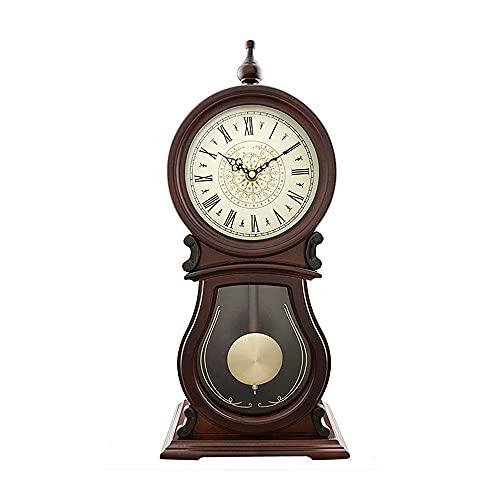 MingXinJia Relojes de Cabecera para el Hogar Reloj de Repisa