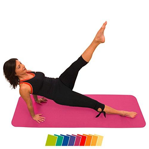 AIREX® Fitness Matte 140x58x1 Gymnastik Studio inkl. Zertifikat pink
