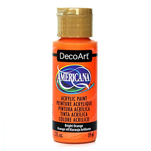 DecoArt Americana Acrylic Paint, 2-Ounce, Bright Orange