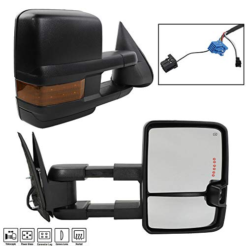 Why Should You Buy Pair, Compatible with 03-07 Chevy GMC Towing Power Heated Signal/Clearance Light Side Mirrors
