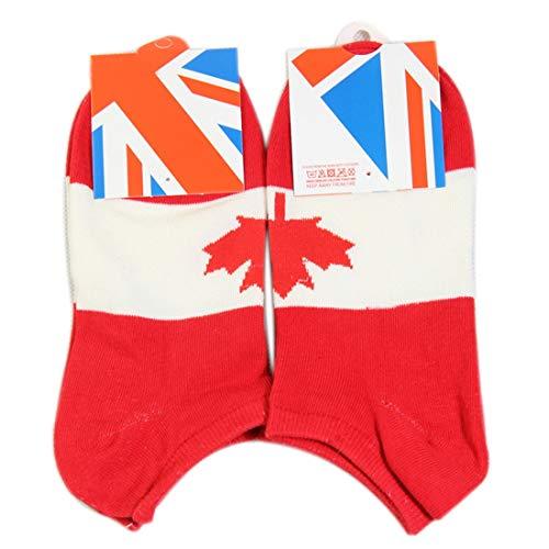 qianzhi Fu?Ball Mann Socken USA Gro?britannien Israel Brasilien Norwegen Japan Kanada Flag Socken Baumwoll Herrensocken