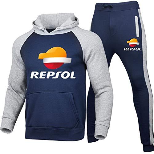 Gyulyaydin Uomo Tuta Sportiva da Jogging Re.P-Sol Due Pezzi Raglan Felpa con cappuccio + Pantaloni Superiore/E/XL sponyborty