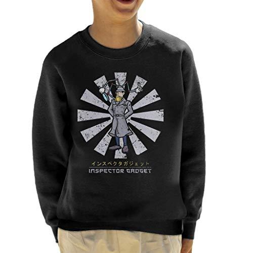 Cloud City 7 Inspector Gadget Retro Japans sweatshirt voor kinderen