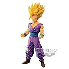 Legend battle figure features Gohan with a fierce expression, both fists forward standing firmly and ready to battle. Gohan looks worn from battle with his uniform torn but is as ready to fight as ever in his Super Saiyan form. Painted, non-articulat...