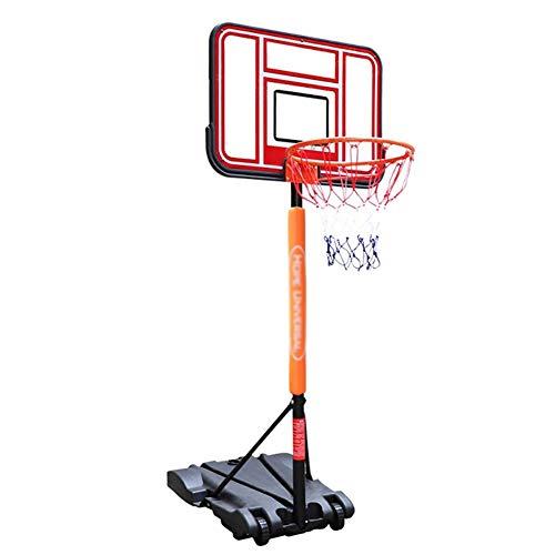ERRU Basketballkorb Kinder Basketball Hoop System Höhenverstellbar Sport, Indoor Basketball Ständer für In-Ground/Pool Side, 30