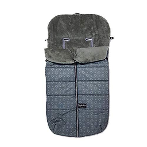 Pirulos 45132730 - Saco carro velour, color gris