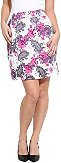 Campus Sutra Women's Floral Printed Skirt