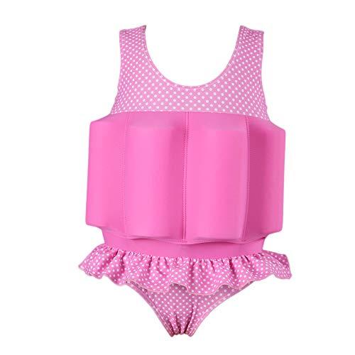 Gifts Treat kinderzwempak baby jongen meisjes zonwering drijvende badkleding met instelbaar drijfvermogen UPF 50